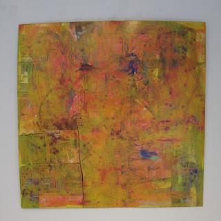 Joseph E. Gilbert Large Abstract Painting