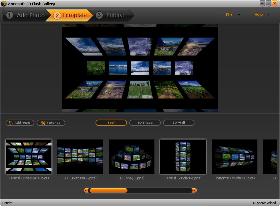 Aneesoft 3D Flash Gallery v2.4.0.0 Full