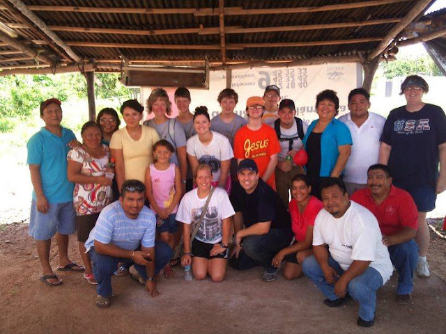Pausing for a group photo in Oxcum, where we hosted 80 children on Saturday.
