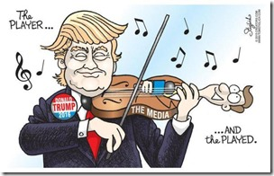 trump-cartoon playing the media
