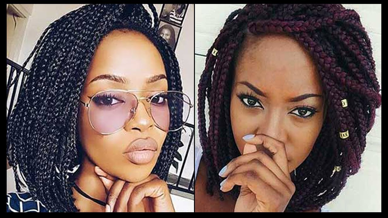 PLAITS FOR BLACK WOMEN WITH SHORT HAIR 1