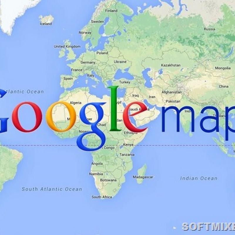 Новый взгляд на карты Google