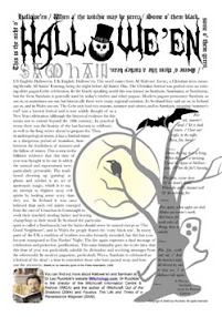 Cover of Leo Ruickbie's Book Halloween And Samhain
