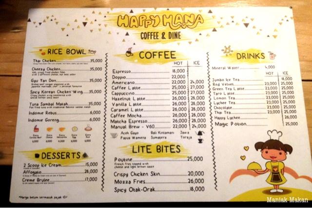 maniak-makan-happy-hana-coffee-and-dine-saharjo-tebet-jakarta-menu