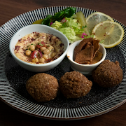 The Real Lebanese Falafel Mezze