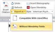Membuat Hyperlink Mendeley