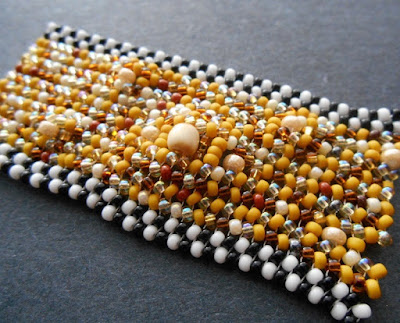 Bead Soup Herringbone Stitch