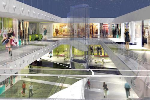 Revisi n interior paseo comercial castellana 200 madrid for Local en centro comercial madrid
