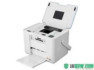 How to reset flashing lights for Epson PM210 printer