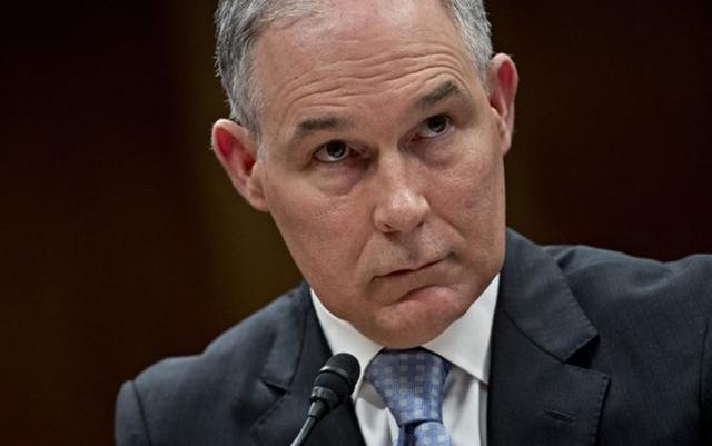 EPA Adminstrator Scott Pruitt. Photo: Andrew Harrer / Getty Images