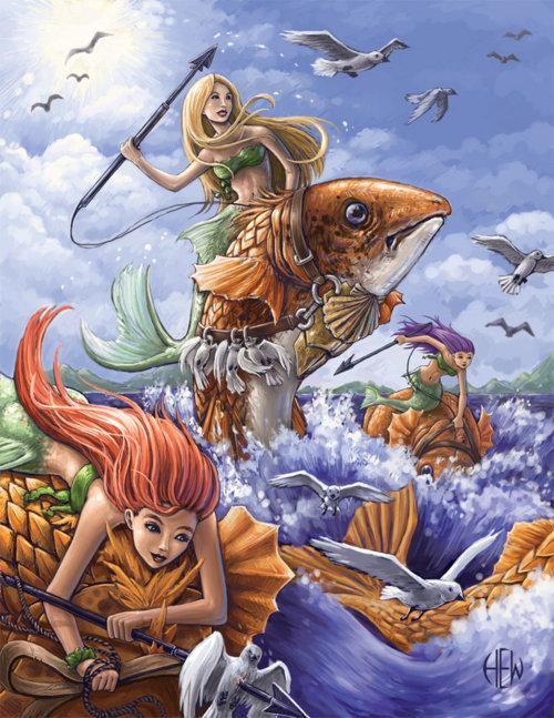 Mermaid Fish, Mermaids