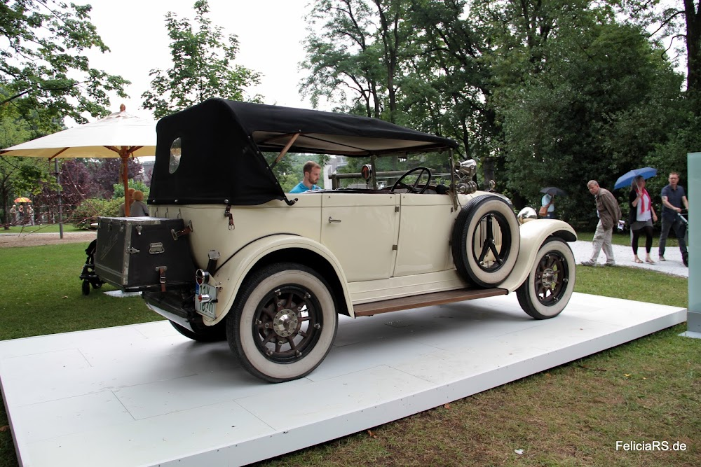 Laurin & Klement 110 1925 80Km/h Spitze schaffte das 25 PS Triebwerk die Anfänge von Škoda