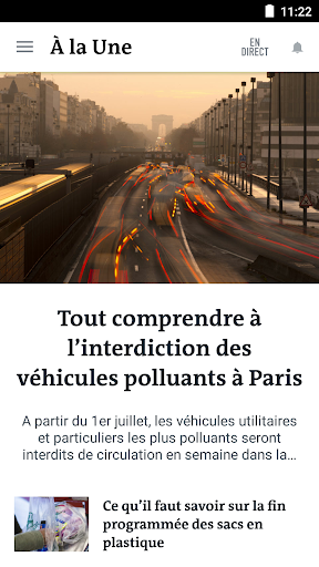 Le Monde, l'info en continu screenshot 2