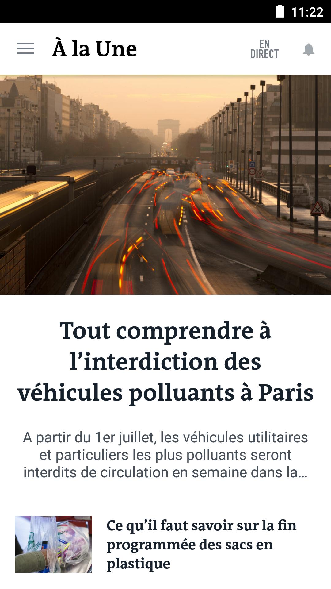 Le Monde, l'info en continu screenshot #2