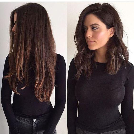 Long Hair Layers Haircut With Bangs 41
