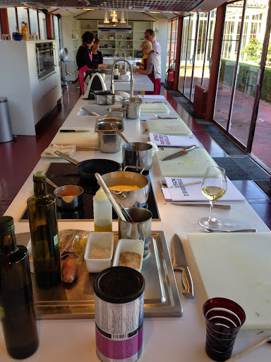 Cooking school at Hotel St. James, Bouliac. From 100 Places in France Every Woman Should Go