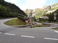 Dépôt ferroviaire à Gletsch