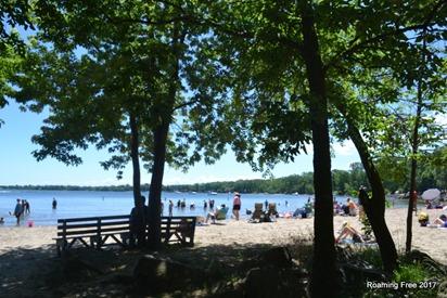 State Park beach