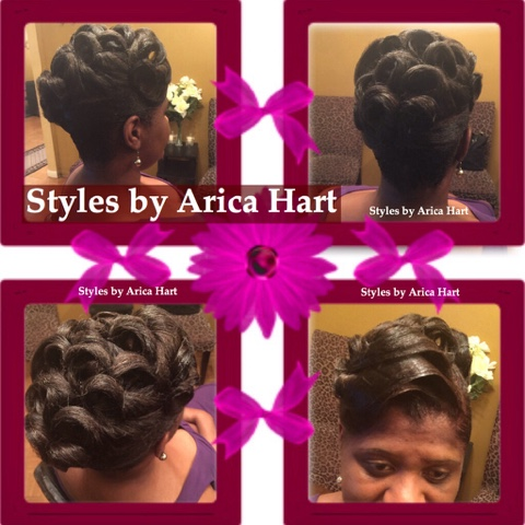 Updo , hair , styles, black hair blog, updo hair style  image
