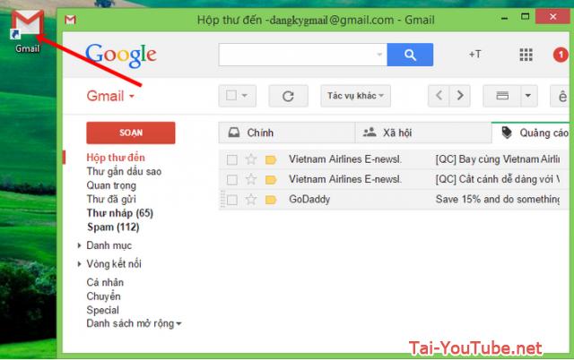 Hướng dẫn tạo ứng dụng Gmail cho máy tính PC, Laptop + Hình 4