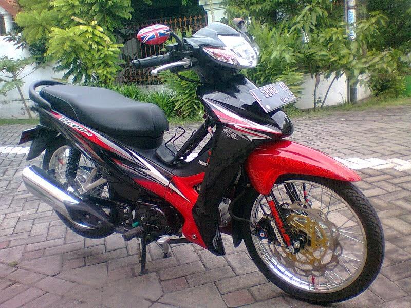 Honda Revo Modifikasi Ceper