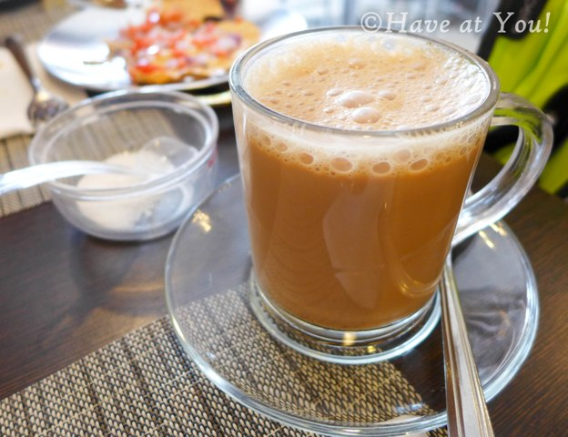 cup of hot chai