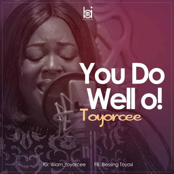 MP3: Toyorcee - You Do Well oo!