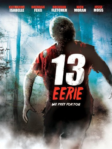 Poster Of English Movie 13 Eerie (2013) Free Download Full New Hollywood Movie Watch Online At alldownloads4u.com