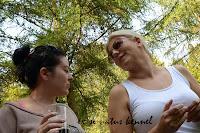 my friends Ewelina and Magda