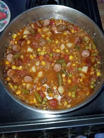 Mike's Lentil Soup