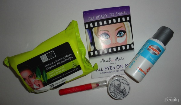 April 2016 Beauty Box Five 1