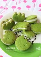 綠茶巧克力夾心餅乾