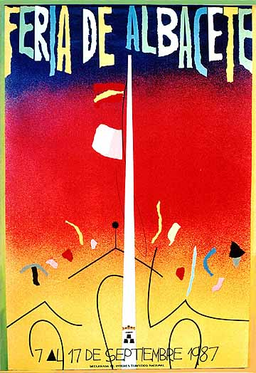 Cartel Feria Albacete 1987
