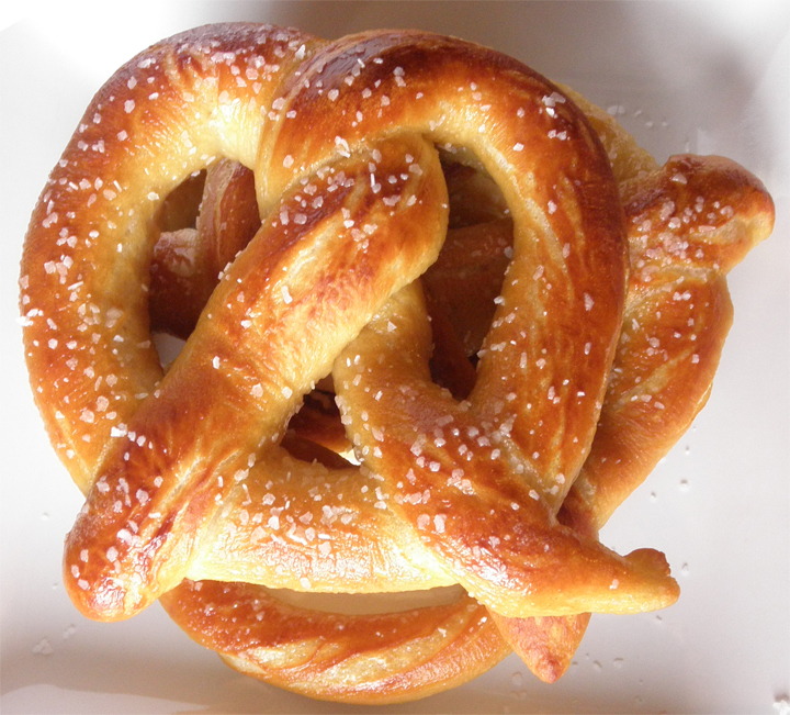 Food Pusher: Soft Pretzels and Pretzel Dogs