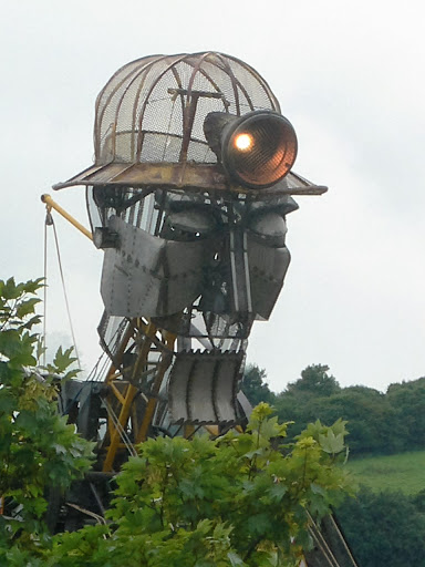 The Cornish Man Engine visits Lostwithiel