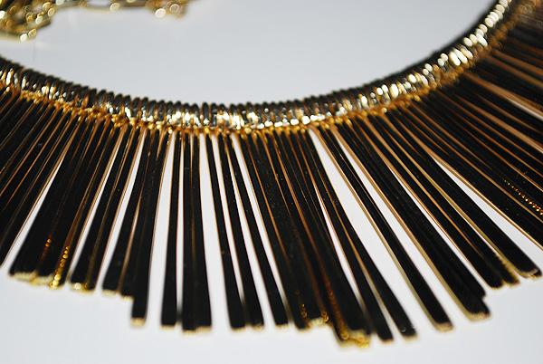 ollana, collar, collare, oro, rigida, gold, oasap