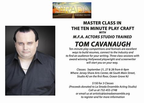 Tom Cavanaugh Master Class Ocean Grove