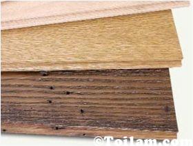 """""""Decor"""" phòng với tranh gỗ tự làm"""