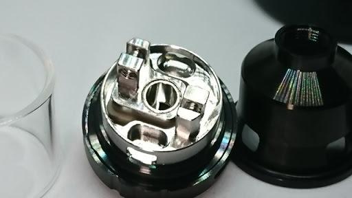 DSC 1645 thumb%25255B4%25255D - 【RTA】「VAPE CIGE DIP RTA」シングルビルドデッキつきのクラウドチェイス&フレイバーチェイス両対応アトマ!【電子タバコ/VAPE】