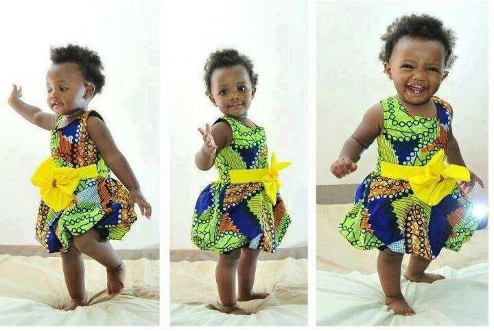 African Dress Styles For Kids How Make Your child LookSpectacular 5