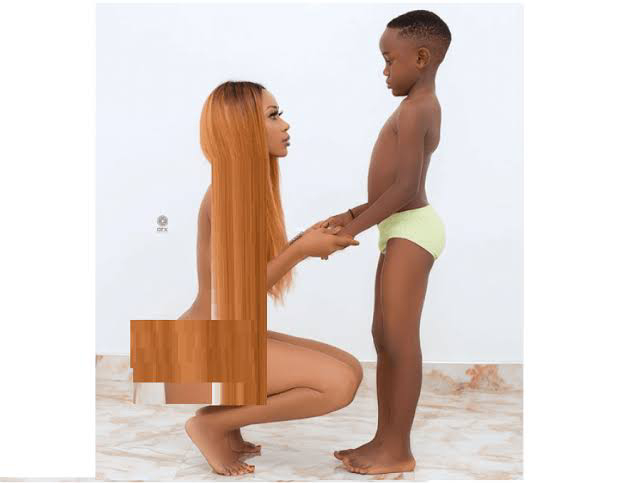 Actress, Akuapem Poloo sentenced to 3 months in prison over nude photoshoot with her son.