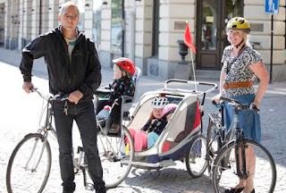 Sivberg Björklund cykelsläp
