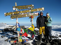 Kili Climb Day 5 - Summit Reached! 5895 meters (19,343 ft)
