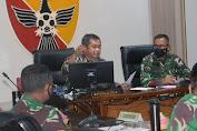 Rapat Evaluasi Project Non Program Kodam IX/Udayana, Pangdam Paparkan Visi TNI AD untuk Masyarakat
