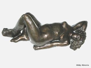 Sunbather, bronz, 15in. L.