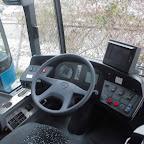 Het dashboard van de Mercedes Citaro van Connexxion / TCR bus 513-1024