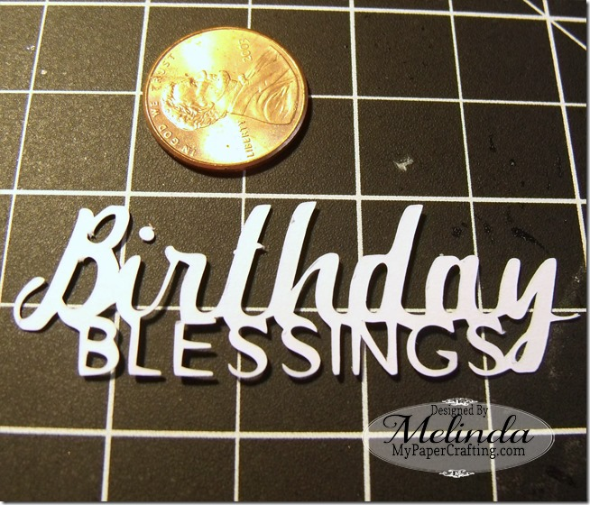 SVG Cut File Birthday Blessings