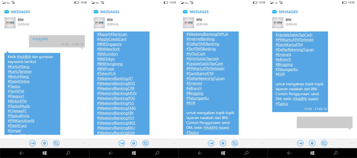 hashtag #AskBNI