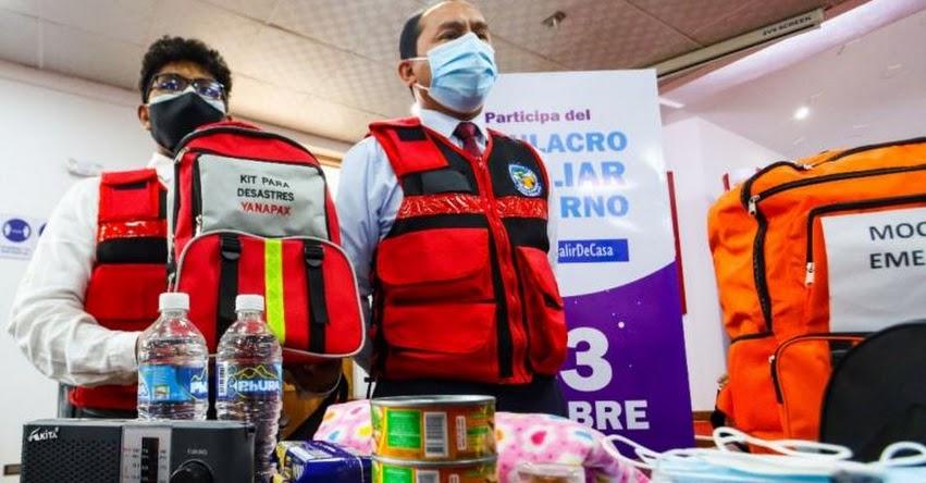 Cusco se prepara para simulacro multipeligros nocturno de mañana miércoles 13