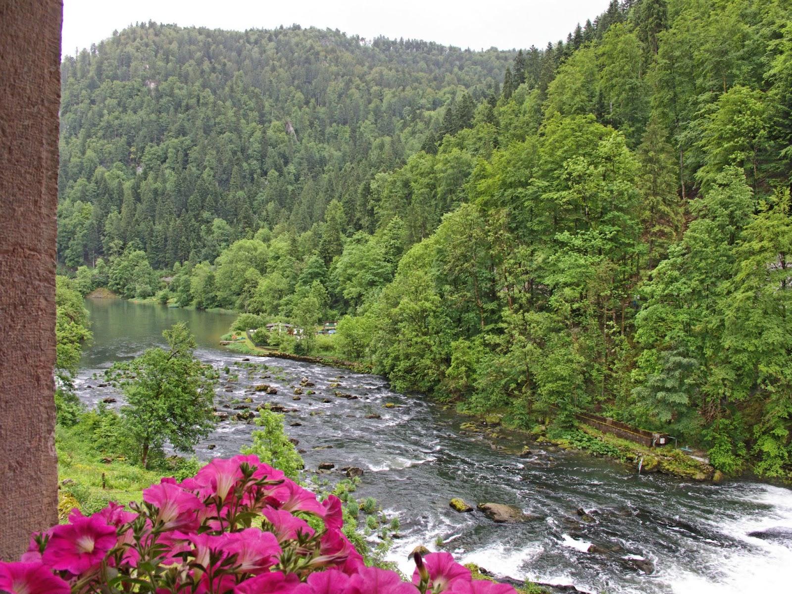 La Rasse Vue sur le Doubs - En face la Suisse